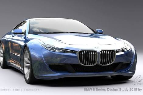 What It Is BMWs Upcoming 7 Series Based 8 Coupe Covered In Camouflage And Penned Among Other BMW Prototypes Expected To Be Larger Than Todays