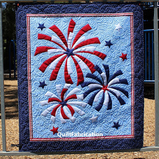 Fireworks-Patriotic-Fourth-of-July-Wall-Hanging-Art