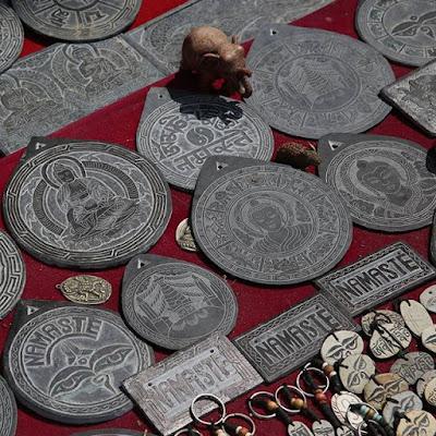 Souvenirs en Katmandú