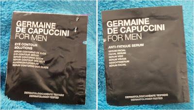 Serum Anti-Fatigue + Contorno de ojos Germaine de Capuccini FOR MEN, (Review)