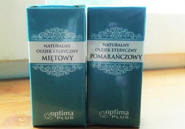 Optima PLUS - olejek miętowy i pomarańczowy