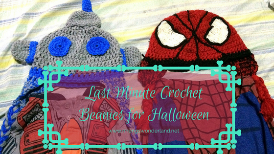 Last Minute Crochet Beanies for Halloween