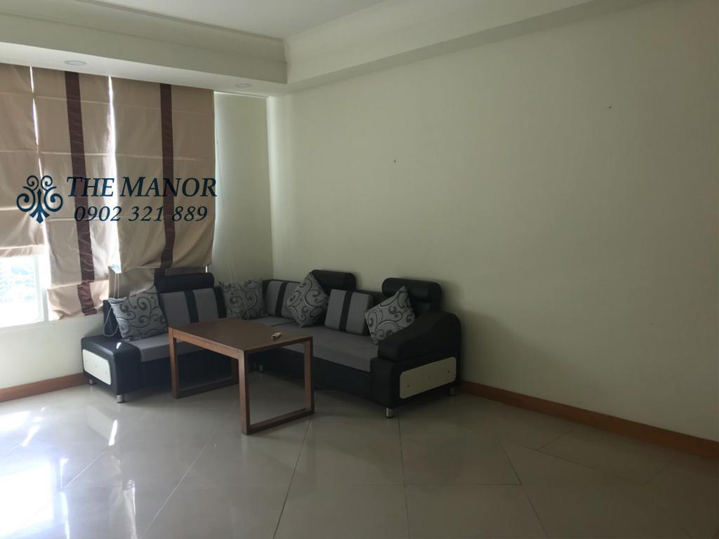 Bán căn hộ The Manor lô A tầng 18 với 2 phòng ngủ - phòng khách