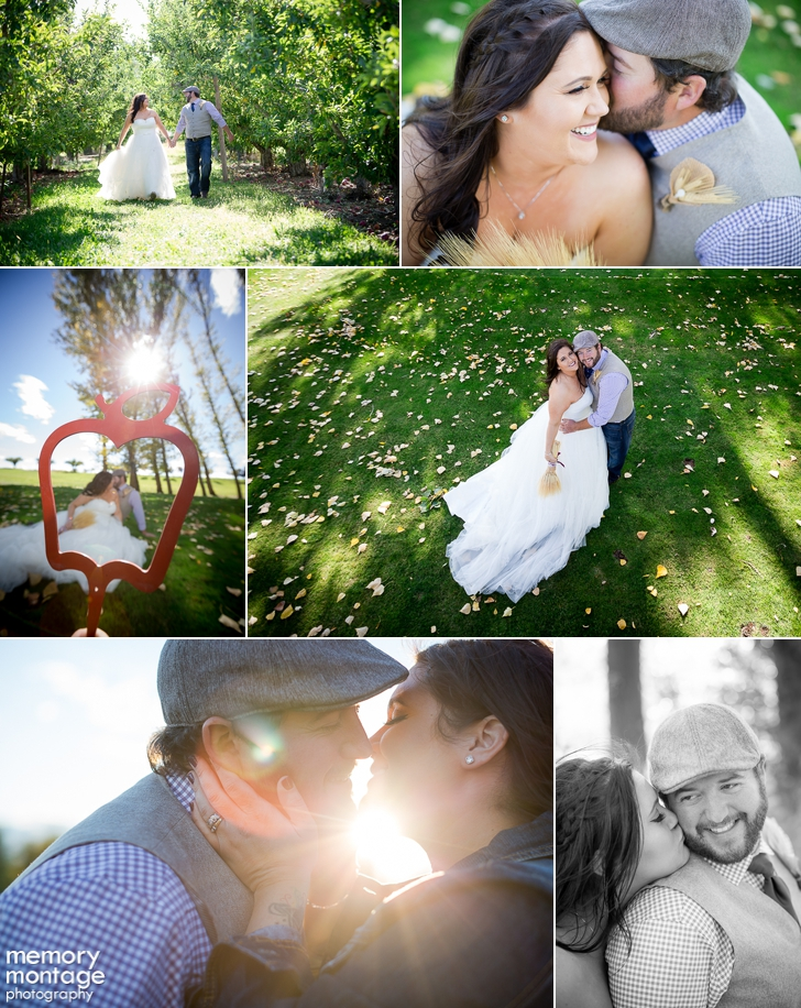 Kelly Richelderfer Kellye Richelderfer wedding apple tree golf course yakima