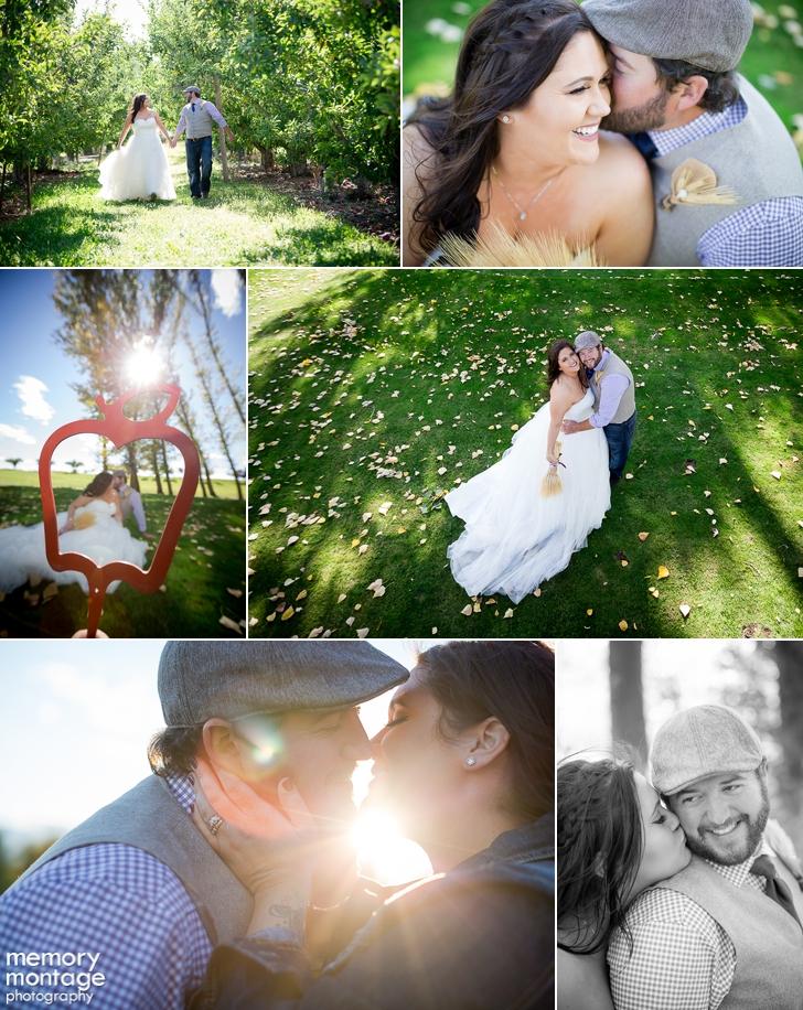 Kelly Richelderfer Kellye Richelderfer wedding apple tree golf course yakima