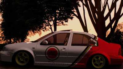 GTA SA - Vw Bora Lucky Strike