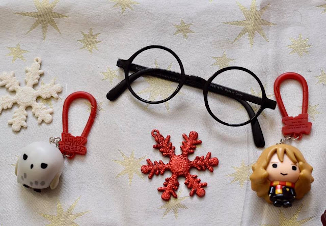 Harry Potter Gifts - Glasses and Hermione and Hedwig backpack buddies