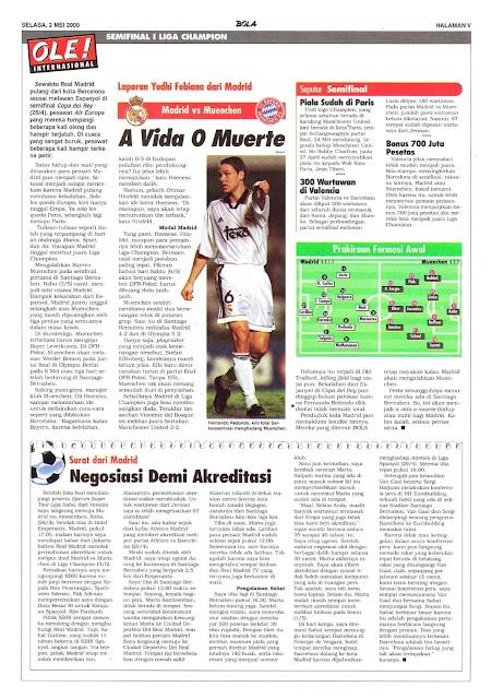 MADRID VS MUENCHEN A VIDA O MUERTE