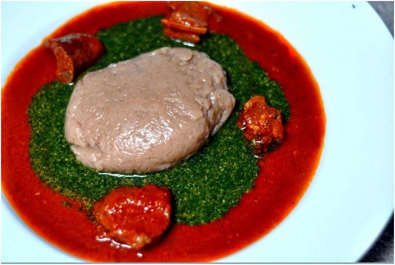 Image result for amala and ewedu