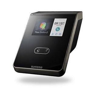 Biometrico para accesos y presencia reconocimiento facial Suprema FaceStation 2