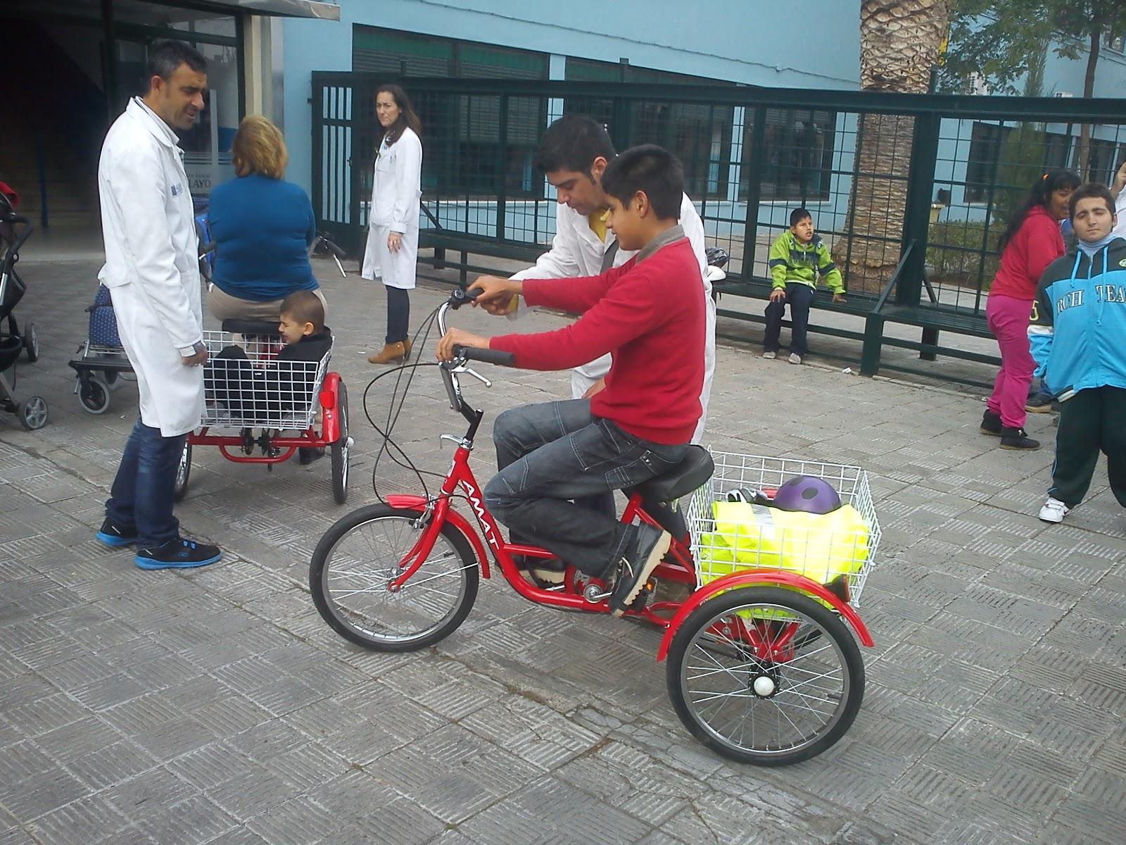 La Física De Las Bicicletas: Bicicleta Y Discapacidad: Clases De Educación Física Y
