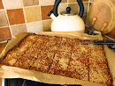 Honey and seed filled Flapjacks