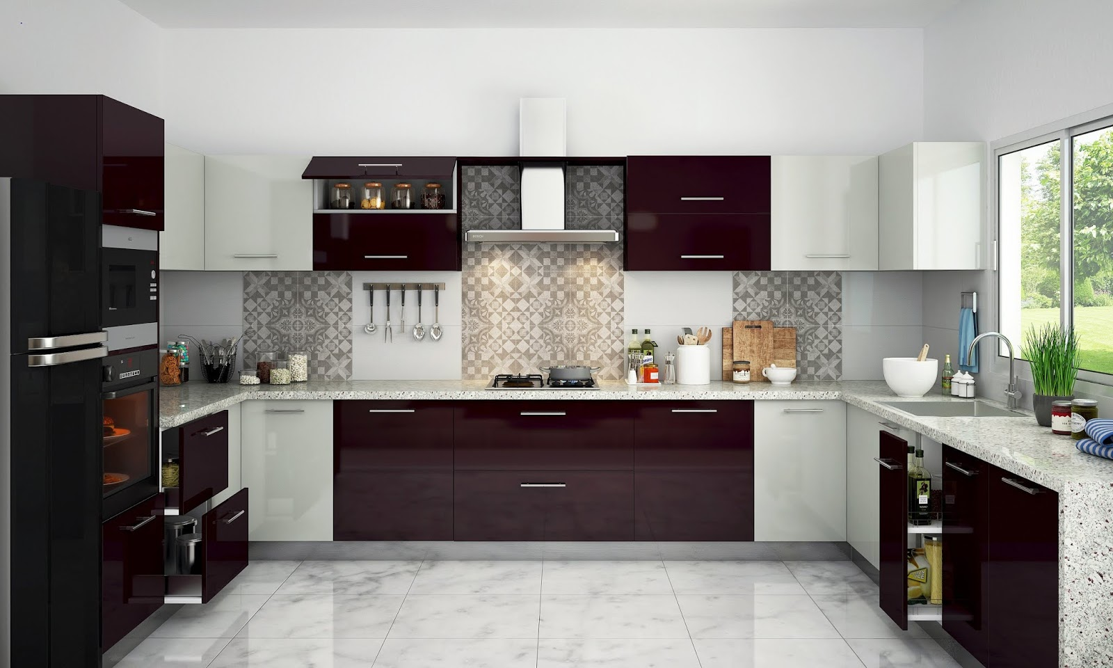 100 Modular Indian Kitchen Designs Ideas Colors Cabinets 2019