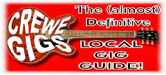 CREWE AND DISTRICT GIG GUIDE