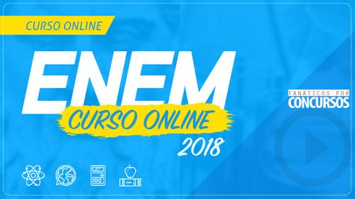 ENEM 2018: Curso Online Completo