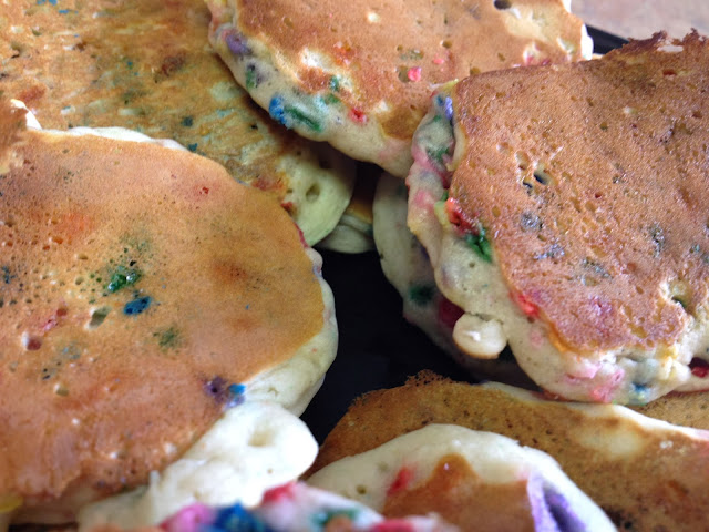 Sprinkle Pancakes DIY Recipe