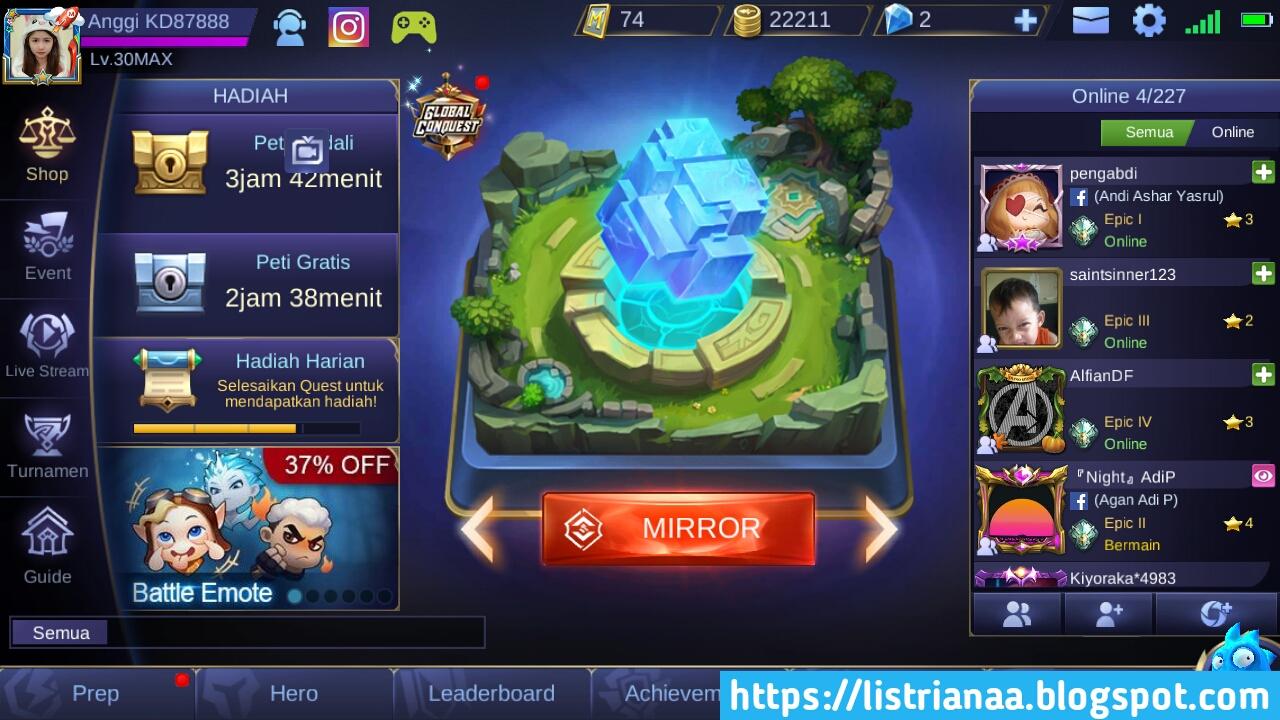 Ini Dia Tipe Hero Yang Paling Mematikan di Mode Mirror Mobile Legends 5