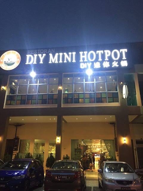 Food review : DIY Mini Hotpot at Menglembu, Ipoh