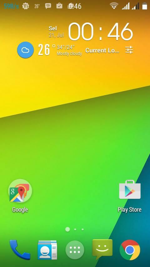 Custom Rom CyanogenMod KK For Lenovo A526