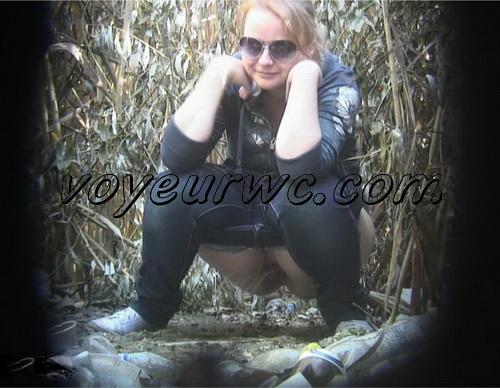 PissHunters 8850-8865 (Outdoor voyeur peeing. Voyeur public toilet spy cam)