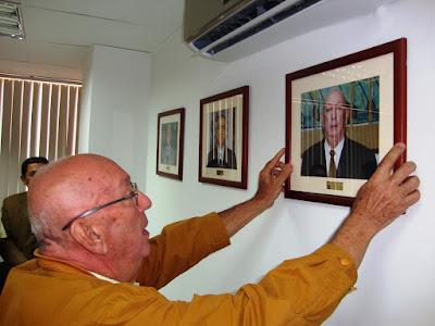 Ex presidente Daniel Urdaneta