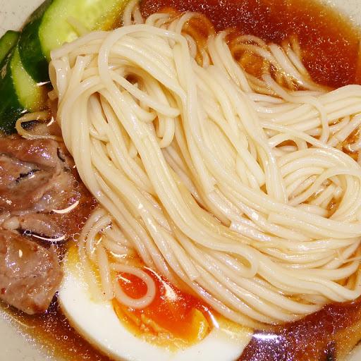 【五木食品】つるっとのどごし強ゴシ麺・冷麺 ピリ辛スープ