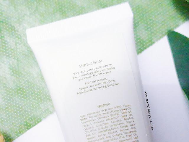 tutorial-cara-pakai cleansing-milk