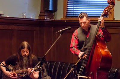 Musicians Sean Tremble and Brian Templeton, accompanying recorded music by Rob Doherty.