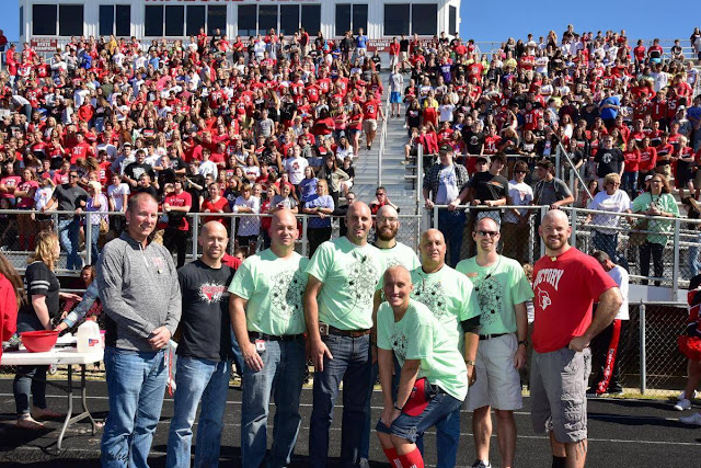 Shaved Heads for St. Jude, Metamora Herald