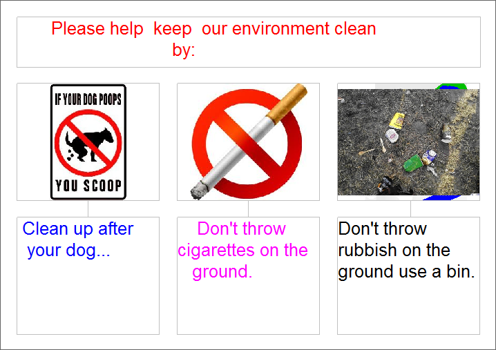 How to keep your environment clean
