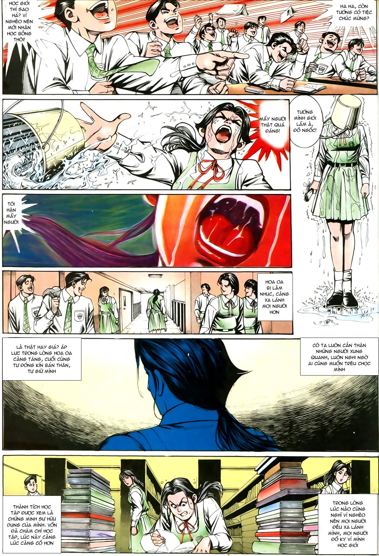 Người Trong Giang Hồ chapter 207: nhật ký đau lòng trang 30