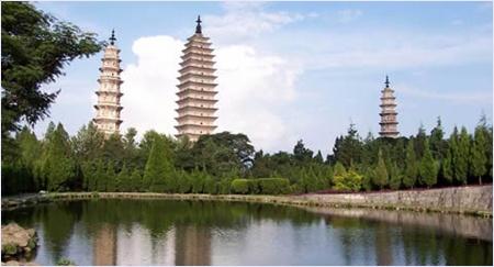 เจดีย์ 3 องค์เมืองต้าหลี่ (Chongsheng Temple)