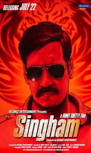 Singham (2011) 400Mb Full Hindi Movie Download 480p Bluray