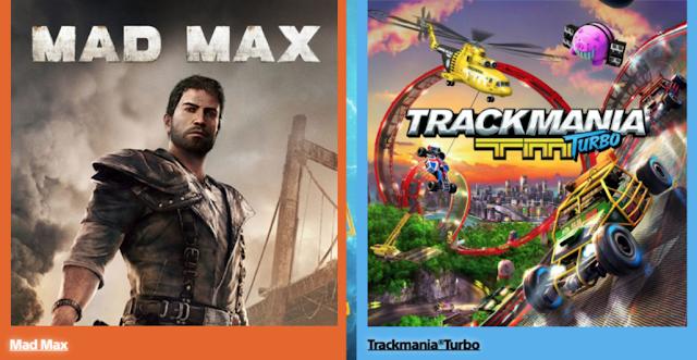 Mad Max y Trackamania como protagonistas de los PlayStation Plus de abril