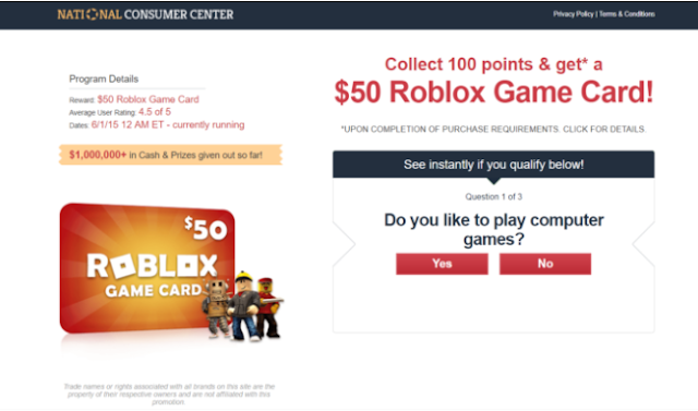 Get A 50 Roblox Game Card Best Offers For You