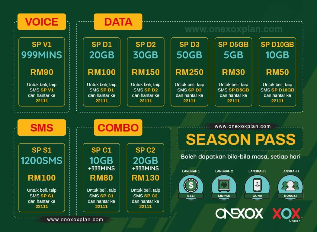 ONEXOX SEASON PASS