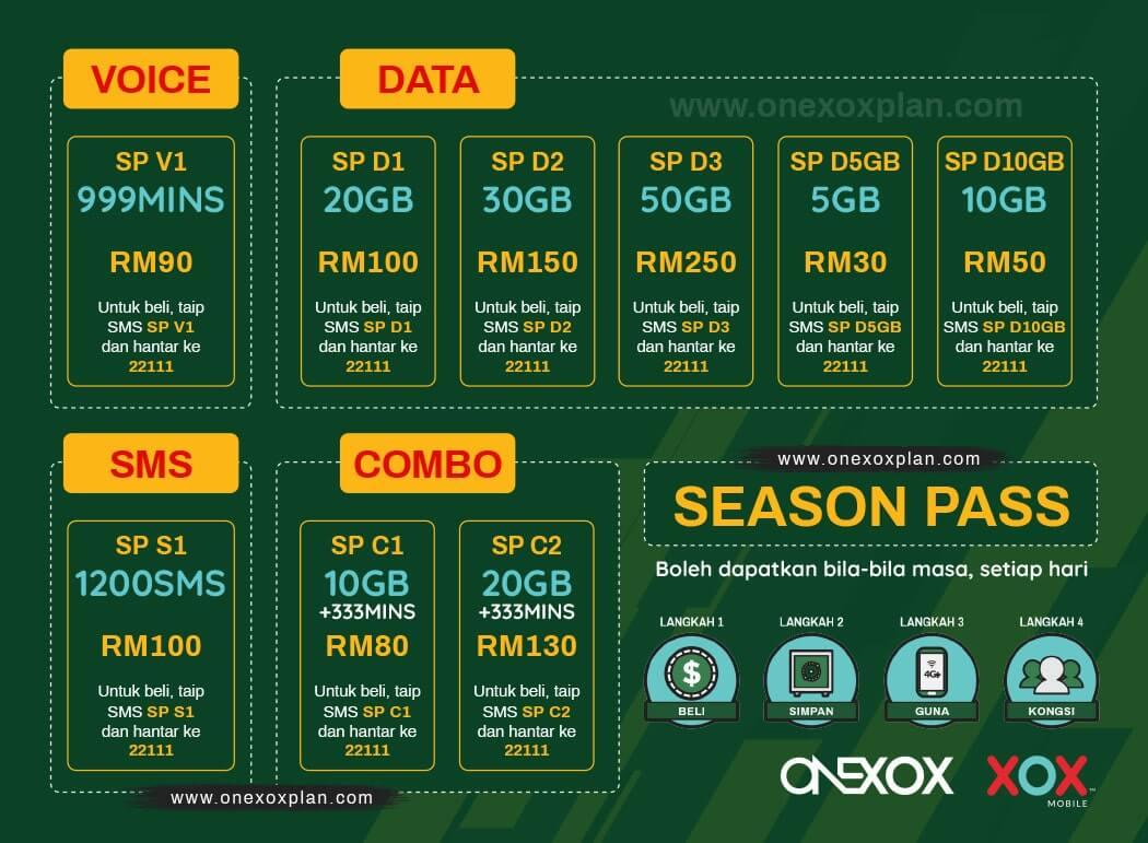 ONEXOX SEASON PASS