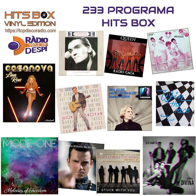 233 Programa Hits Box Vinyl Edition - Topdisco Radio