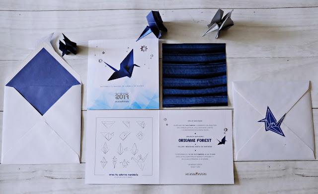 Brunch Navidad Clientes Mi Boda Rocks 2016 - Origami Forest