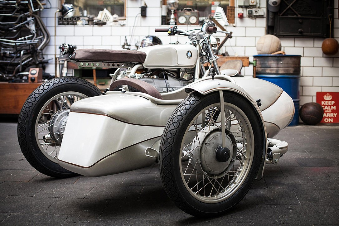 BMW R80 Sidecar Motorcycle by Kingston Custom - MS+ BLOG