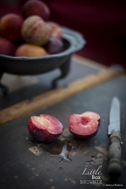 cut plum