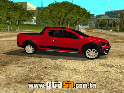 Volkswagen Saveiro Cross G6 2014 para GTA San Andreas