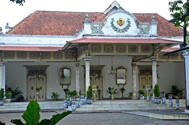 Patio del Kraton de Yogyakarta