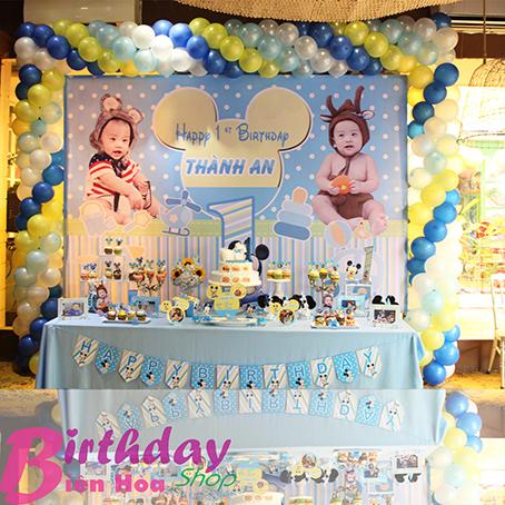 Trang trí sinh nhật ở Tp[ Biên Hòa