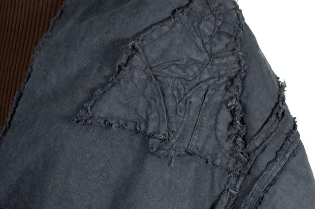 secret lentil artifacted linen, detail