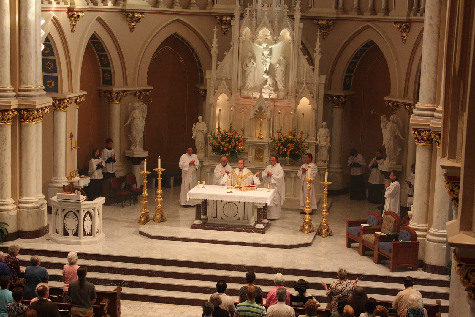 Southern Orders At Saint Joseph Church In Macon The