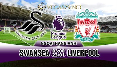 Nhận định - Soi kèo: Swansea vs Liverpool