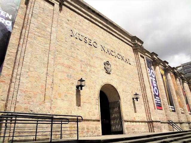 コロンビアの首都ボゴタにある『コロンビア国立博物館』