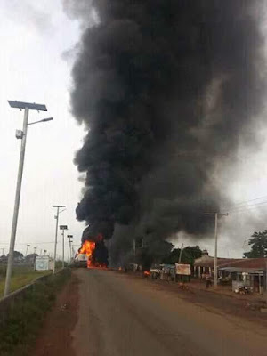 Photos: Scores Killed, 15 Injured As Petrol Tanker Explodes Along Kaduna-Abuja Highway