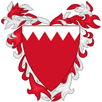 Logo Gambar Lambang Simbol Negara Bahrain PNG JPG ukuran 200 px